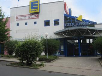 Local shopping center,<br /> Apolda