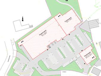 Retail warehouse center, Hohenstein-Ernstthal